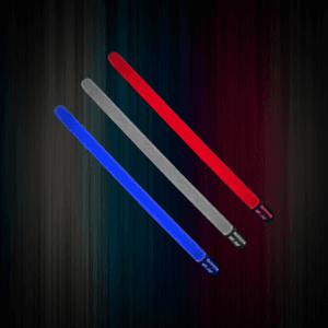 "12"" Ground Stakes -Red, White & Blue (60 Pack)"