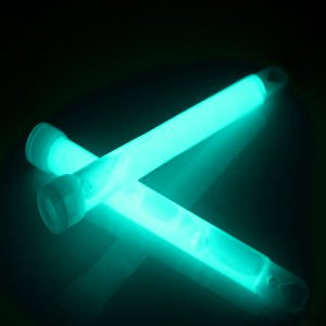 12 Inch Jumbo Light Sticks - Aqua