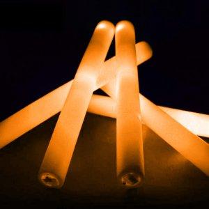 12 Inch Jumbo Light Sticks - Orange