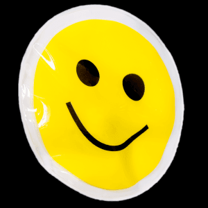 "3"" Light-Up Smiley Face Sticker"