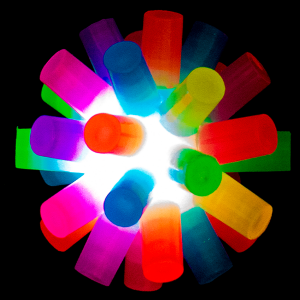 Light-Up Rainbow Ball