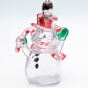 Light-Up Holiday Necklace- Snowman