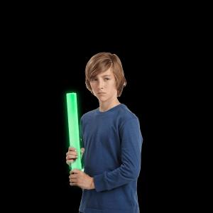 LED Light-Up Foam Stick Baton Supreme- Green