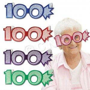 100 Glitter Foil Glasses
