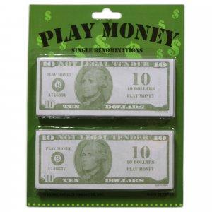 $10 Bills Play Money