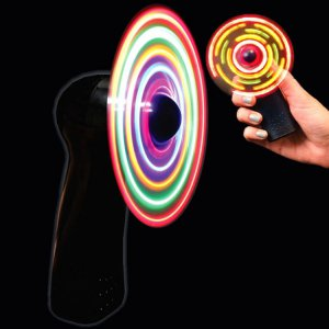 Black LED Fan