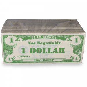 $1 Bills Play Money Value Pack