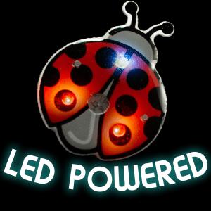 Flashing Lady Bug Blinky