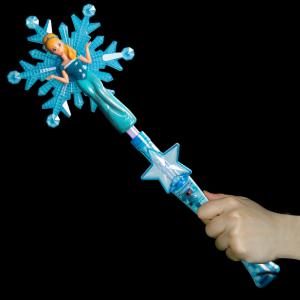 Light-Up Snowflake Princess Wand