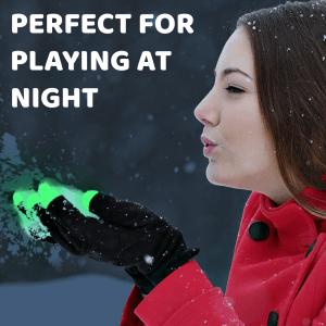 LED Flashing Fingertips Gloves