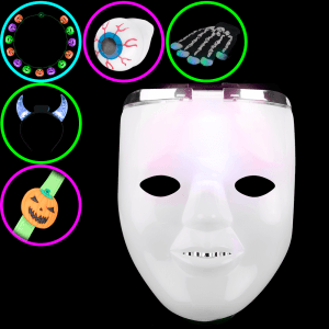 Dual Mask Halloween Party Pack