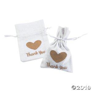 Thank You Drawstring Treat Bags (Per Dozen)