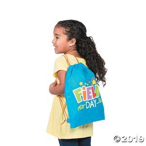 Field Day Medium Drawstring Bags (Per Dozen)