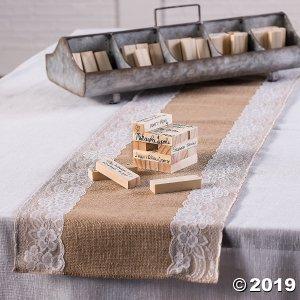 Wooden Block Wedding Guest Book (1 Set(s))