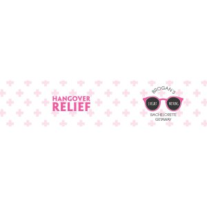 Personalized I Regret Nothing Bachelorette Water Bottle Labels (25 Piece(s))