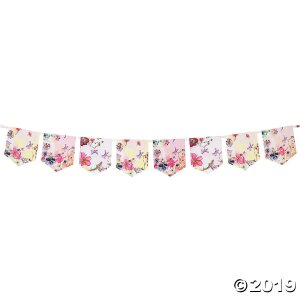 Talking Tables Blossom Girls Pennant Banner (1 Piece(s))