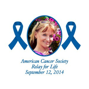 Premium Blue Awareness Ribbon Custom Photo Can Coolers (Per Dozen)