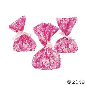 Breast Cancer Awareness Cellophane Bags (Per Dozen)