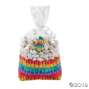 Fiesta Cellophane Treat Bags (Per Dozen)