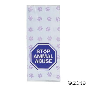 Pet Awareness Cellophane Bags (24 Piece(s))