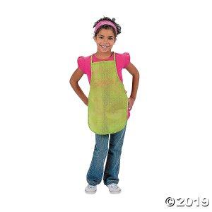 Colorful Kids' Aprons (Per Dozen)