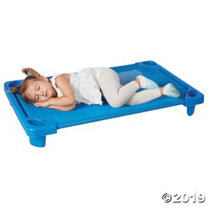 Streamline Cot Toddler Ready-to-Assemble - Blue - 6PK (6 Unit(s))