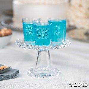 'Tis the Season Plastic Shot Glasses (50 Piece(s))