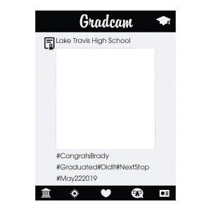Personalized Instaframe Graduation Photo Booth Cutout (1 Piece(s))