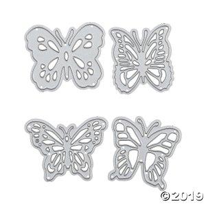 Butterfly Cutting Dies (4 Piece(s))