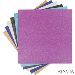 """Cricut 12""""X12"""" Vinyl Sampler 6/Pkg-Glitter (1 Unit(s))"""