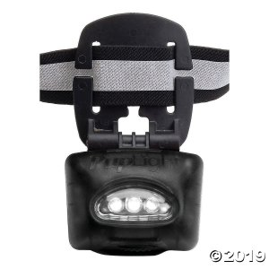Bright Safety Flashlight Collar-Black (1 Piece(s))