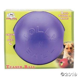 Jolly Pets-Teaser Ball - Purple, 8 (1 Piece(s))