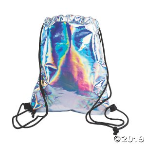 Iridescent Drawstring Bag (1 Piece(s))