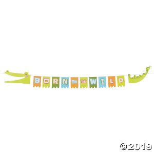 Jungle Baby Shower Garland (1 Piece(s))