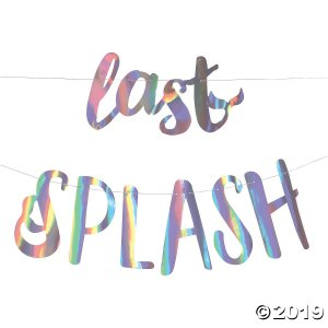 Last Splash Mermaid Bachelorette Garland (1 Set(s))