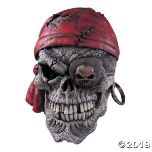Skull Pirate Mask (1 Piece(s))