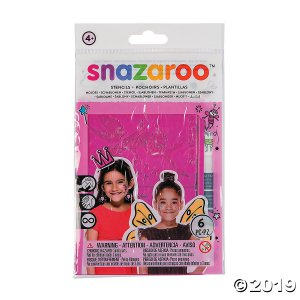 Snazaroo™ Girl's Fantasy Face Paint Stencils (1 Piece(s))