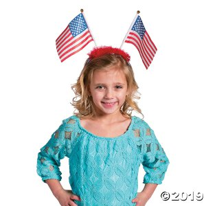 Patriotic Flag Head Boppers (Per Dozen)