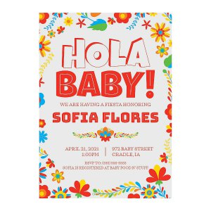 Personalized Fiesta Baby Shower Invitations (10 Piece(s))