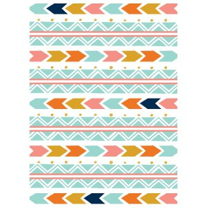 Personalized Tribal Baby Shower Invitations (25 Piece(s))