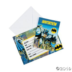 The Dark Knight Batman™ Invitations (8 Piece(s))