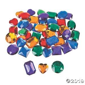 Giant Self-Adhesive Jewels (50 Piece(s))