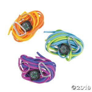 Compass Paracord Keychain Craft Kit (Makes 6)