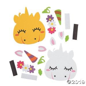 Pumpkin Unicorn Magnet Craft Kit (Makes 12)