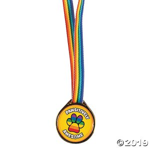 Pawsitively Awesome Award Medals (Per Dozen)