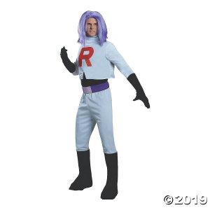 Men's Pokémon™ Team Rocket James Costume (1 Piece(s))
