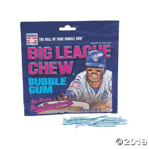 Big League Chew™ Blue Raspberry Pouches (Per Dozen)
