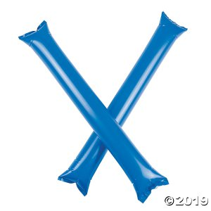 Inflatable Blue Boom Sticks (24 Piece(s))