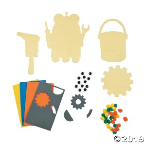 Geared Up for God VBS Tissue Paper Craft Kit (Makes 12)