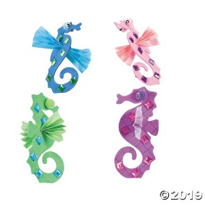Seahorse Craft Kit (Makes 12)
